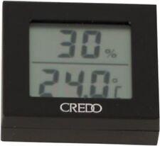 CREDO Digital-Hygro/Thermometer schwarz 1.7 x 5.3 x 5.6 cm mit Magnet NEU