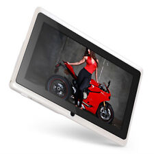 7 Inch TouchScreen Dual-Core WiFi Android Tablet 512M/8GB Camera Bluetooth White