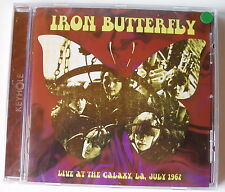 IRON BUTTERFLY : Live At The Galaxy LA July 1967 (CD neuf)