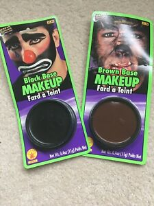 Black And Brown Makeup Base Water Washable