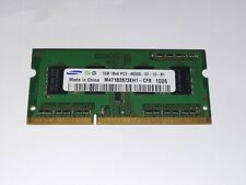 1 x Samsung 1GB DDR3 PC3-8500S-07-10-B1 SODIMM Laptop RAM M471B2873EH1-CF8