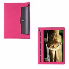 """Soft GEL Rubber Sleeve for 10.1"""" Lenovo Yoga Tab 3 10 (x50) Tablet PC Pink"""
