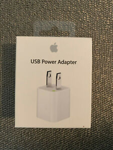 Apple USB 5W Power Adapter - MD810LL/A - New