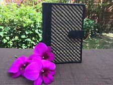 Unique Thai Cute Wicker Handicrafts Vintage Krajood Vine Fern Notebook Cover