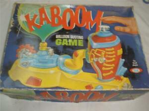 VINTAGE KABOOM BALLOON BUSTING GAME IDEAL