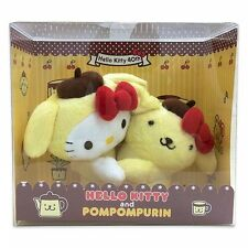 Sanrio Kitty × Pom Pom Purin 40th Anniversary Plush~ US Seller