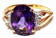 Unbranded Birthday Solitaire Fine Gemstone Rings