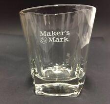 1x Maker's Mark APS Whisky Bourbon Glas Tumbler NEU OVP Cocktail Gläser