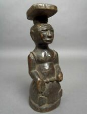 Beautiful Kuba Figure Carved Wood Sculpture Carving Congo Africa