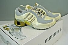 Womens Adidas 1 White and Gold Intelligence Level 1.1 Running Shoes 6.5 *227