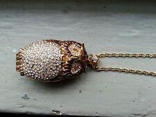 Victoria wieck owl watch necklace