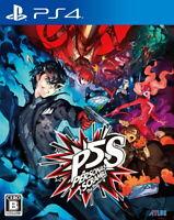 Persona 5 Scramble The Phantom Strikers Sony Playstation 4 PS4 F/S Tracking NEW