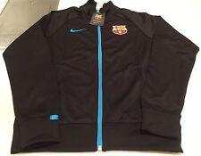Team FC Barcelona European Soccer Football Full Zip Track Jacket Large Adult