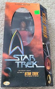 "1999 LIEUTENANT UHURA Star Trek Classic Edition 12"" Playmates - Unopened #65532"
