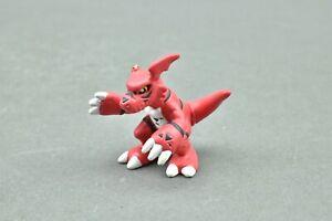 Digimon Guilmon Bandai Mini H-T Figure WORN / Damaged