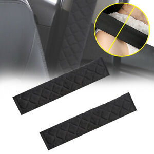 2Pcs Car Safety Seat Belt Shoulder Pad Cover Cushion Harness Comfortable Driving