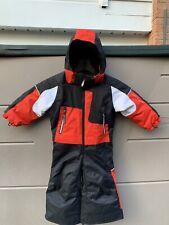Obermeyer Kids Snow/Ski Suit I- Grow One Piece Red Black White Size 2 GREAT 🌺