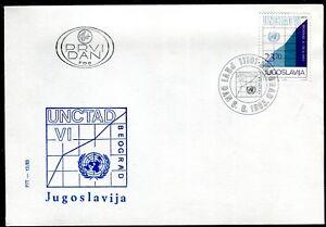 1993b - Yugoslavia 1983 - UN - United Nation - UNCTAD - FDC