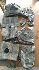 US ARMY UCP RIFLEMAN SET AIRSOFT MILITARY MOLLE II SYSTEM POUCHES PADS ETC