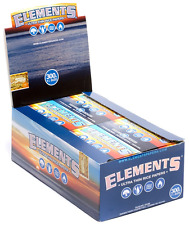 Full Box 20x Packs ( Elements 300 1 1/4 1.25 ) Ultra Thin Rice Rolling Papers
