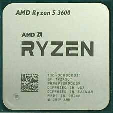 AMD Ryzen 5 3600 R5 3600 6C Twelve-Thread 3.6GHz 32M AM4 CPU Processor