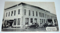 Georgia Waycross Post Card The Dexter Press Hotel 1935  Pearl River N. Y.  CPICS