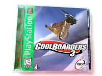 Cool Boarders 3 Sony Playstation 1 PS1 Game Complete Tested Working!