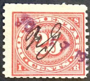 1917 25c Documentary Revenue, Scott #R236, Used, Fine, clipped perfs