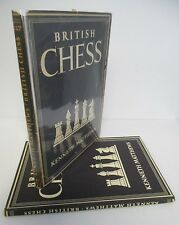 BRITISH CHESS by Kenneth Matthews, 1948 1st Ed in DJ, Illustrated