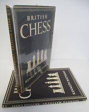 BRITISH CHESS by Kenneth Matthews, 1948 1st Ed in DJ, Illustrated