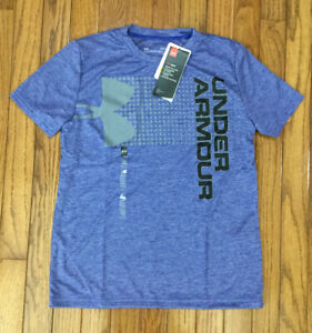NWT Under Armour Boys Crossfade T-Shirt Tee Loose Fit Sz Youth Large (U24)