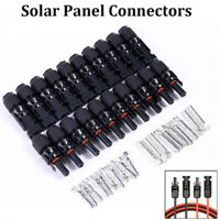 MC4 30A Male Female M/F Wire Cable Connector Set Solar Panel IP67 Adapter FL