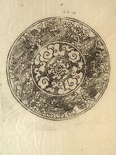 3 Holzschnitte auf Reispapier – Mandala u. a. – Nepal – 70er Jahre