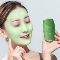 1xGreen Tea Purifying Clay Stick Mask Oil Control Anti-Acne Eggplant Masks