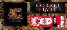 CHIODOS Devil/Illuminaudio/Bone Palace Ballet RARE Stickers Lot! Metal Punk Rock