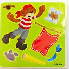 10 MYO  Build A Bear Pirate  Stickers Party Favors Teacher Supply