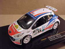 Ixo 1/43 Diecast Peugeot 207 07 Ral Casinos do Algarve