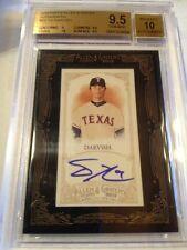 2012 Topps Allen & Ginter Yu Darvish autograph BGS 9.5/10 GEM MINT