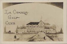 SPORTS GOLF CORDOBA LA CUMBRE GOLF CLUB FRENTE PRINCIPAL  REAL PHOTO 1925
