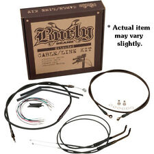 """Burly 16"""" Ape Hanger Handlebar Cable Wire Kit for 2006 Harley Dyna FXDWG *"""