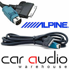 Alpine KCE-422i Full Speed Car Stereo iPod iPhone Adapter Cable Lead UK SELLER