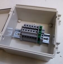 Solar Transition Pass-through Box - Terminal Junction Box -  6-Position + Ground