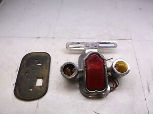 82 Honda Goldwing Tail Light Tome Stone w Red Blinkers 1100 Gold Wing 1982 T4-7
