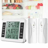 Termometro interno ed esterno Termometro elettronico senza fili per frigorifero
