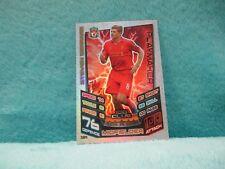 Match Attax Attack 12/13 2012/13 #504 Steven Gerrard Hundred 100 Club MINT Card
