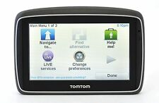 NEW UNIT ONLY TomTom GO 740 LIVE Portable GPS North-America Maps USA bluetooth