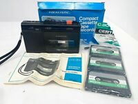 Vintage REALISTIC Compact Cassette Tape Recorder CTR-58 Radio Shack, Not Working
