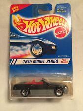 Hot Wheels #342 1995 Model Series #2 Mercedes Sl Black Wire Spokes 1:64 Diecast