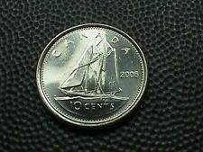 CANADA    10 Cents  2006  -  ML   UNCIRCULATED  , $ 2.99 maximum shipping in USA