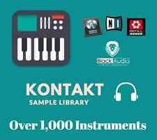 KONTAKT ~ Roland Fantom X ~ OVER 1,000 of High Quality Instruments ~ Fast Ship